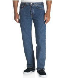 24 Units of Mens Classic Fit Original Denim Jeans - Mens Clothes for The Homeless and Charity