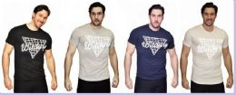 24 Units of MENS FASHION HIGH TREATED COTTON SPANDEX GRAPHIC WITCHERY T SHIRT - Mens T-Shirts