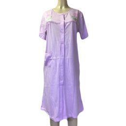 60 Units of Nines Ladys House Dress / Pajama Assorted Colors Size Large - Women's Pajamas and Sleepwear