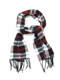 1572 Units of Fleece Scarves - Plaid Prints - Winter Scarves