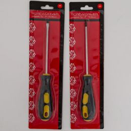24 Units of Screwdriver Phillips And Flat Screwdriver Set 2Pc - Hardware Gear