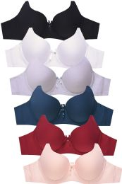 288 Units of SOFRA LADIES FULL CUP PLAIN COTTON BRA - Womens Bras And Bra Sets