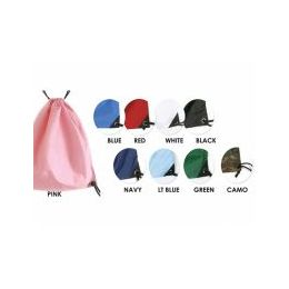 24 Units of Solid Color Backpack In Green - Backpacks