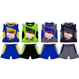 36 Units of Spring Boys Close Mesh Short Sets Toddler - Toddler Boys Sets