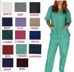 36 Units of Unisex Scrub Pants Assorted Colors And Sizes - Nursing Scrubs
