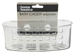 24 Units of Home Basics Caddy with Suction Cups - Shower Accessories