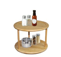 6 Units of Home Basics 2 Tier Bamboo - Kitchen Gadgets & Tools