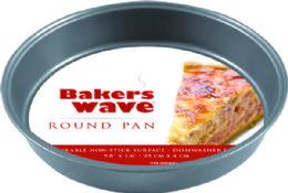 24 Units of Home Basics Non-Stick Cake Pan - Baking Supplies