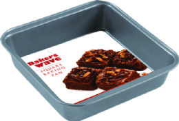 24 Units of Home Basics Non-Stick Square Pan - Baking Supplies