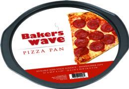 24 Units of Home Basics Pizza Pan - Baking Supplies