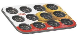 24 Units of Home Basics 12-Cup Muffin Pan - Baking Supplies