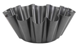 12 Units of Home Basics Steel Fluted Brioche Pan - Baking Supplies