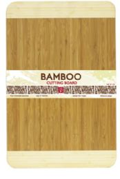 12 Units of Home Basics Bamboo Cutting Board - Cutting Boards