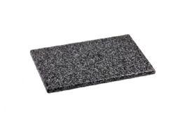 "8 Units of Home Basics 8"" X 12"" Granite Cutting Board, Black - Cutting Boards"