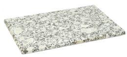 8 Units of Home Basics 8 X 12 Granite Cutting Board, White - Cutting Boards