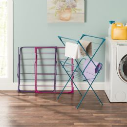 Sunbeam 2 Tier Contemporary Enamel Coated Steel Clothes Dryer - Laundry  Supplies