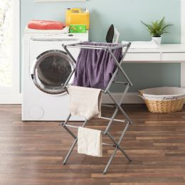 4 Units of Sunbeam 3-Tier Expandable Clothes Dryer - Laundry  Supplies