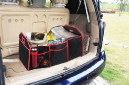 6 Units of Home Basics Foldable Trunk Organizer With Cooler - Travel & Luggage Items
