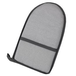 12 Units of Home Basics Heat-Resistant Teflon Ironing Glove, Silver-Grey - Laundry  Supplies
