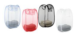 24 Units of Sunbeam Collapsible & Pop Up Hamper - Laundry Baskets & Hampers