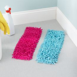 24 Units of Home Basics Ace Collection Replacement Chenille Mop Pad - Dusters