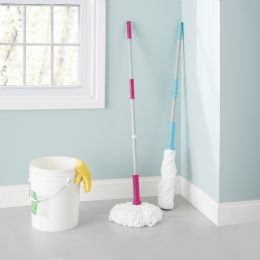 12 Units of Home Basics Ace Collection Twist Mop - Dusters