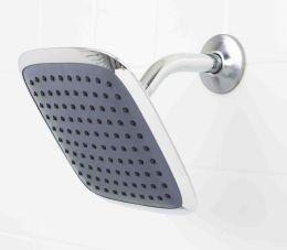12 Units of Sunbeam Chrome Jumbo Square Shower Head - Shower Accessories