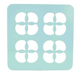 12 Units of Home Basics Turquoise Collection Trinity Trivet, Turqouise - Coasters & Trivets