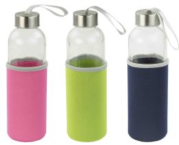 12 Units of Home Basics Travel Bottle With Insulater - Drinking Water Bottle