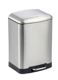 4 Units of Home Basics 6 Liter Soft-Close Waste Bin - Waste Basket