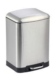 4 Units of Home Basics 12 Liter Soft-Close Waste Bin - Waste Basket