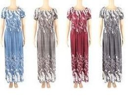 48 Units of Womans Summer Dress In Assorted Sizes - Womens Sundresses & Fashion