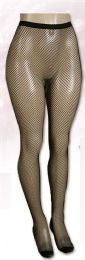 24 Units of Women's Fishnet Tights Queen Size - Womens Pantyhose