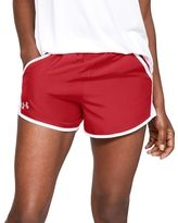 36 Units of Women's Russell Athletic Active Shorts In True Red And White,size Large - Womens Shorts