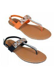 18 Units of Womens Fashion Flip Flops In Orange - Women's Flip Flops