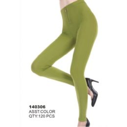 144 Units of Womens Fashion Leggings Assorted Colors Sizes Large, Ex Large - Womens Leggings