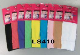 216 Units of Womens Trouser Socks Size 9-11 Nylon Stretch Knee Socks, Assorted - Womens Trouser Sock