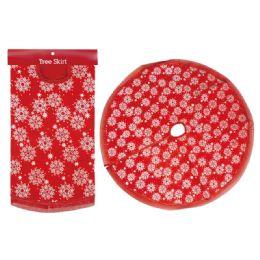 12 Units of Xmas Tree Skirt Snowflake - Christmas Ornament