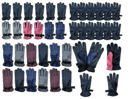 216 Units of Yacht & Smith 72 Mens 72 Womens 72 Kids Gripper Ski Glove Mix, Unisex Bundle - Winter Care Sets