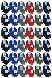 96 Units of Yacht & Smith Wholesale Kids Beanie And Glove Sets (beanie Glove Set, 96) - Winter Sets Scarves , Hats & Gloves