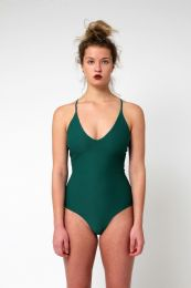 Yacht & Smith Womens Fashion One Piece Bathing Suit Size Large - Womens Swimwear