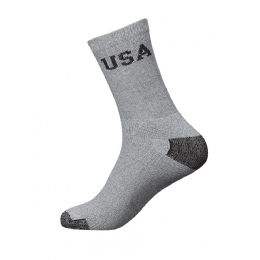 240 Units of Youth Usa Sports Crew Socks Size 9-11 - Boys Crew Sock