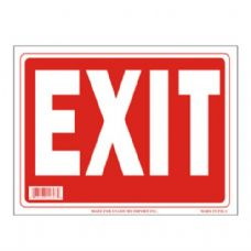 96 Units of Sign 9in x 12in Exit - Signs
