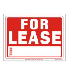 96 Units of Sign 9in x 12in For Lease - Signs & Flags