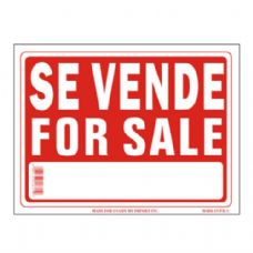 96 Units of Sign 9in x 12in Se Vende (For Sale Spanish) - Signs