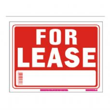 96 Units of Sign 12in by 16in For Lease - Signs