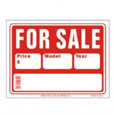 120 Units of Sign 12in by 16in For Sale - SIGNS
