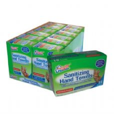 120 Units of Hand Sanitizing Towel 18 CT - Hand Sanitizer