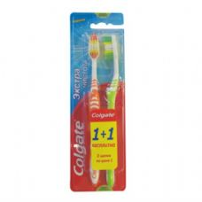 48 Units of Colgate Toothbrush Extra Clean 2PK - Toothbrushes and Toothpaste