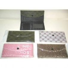 72 Units of Ladies Check Book Wallet